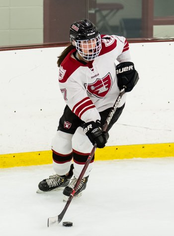 Middlesex's Kylie Quinlan had two goals in a 2-2 tie vs. Governor's on Jan. 13th.