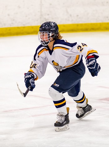 Freshman center Sophia Kennedy scored both BB&N goals in a 5-2 loss at Rivers Wednesday.