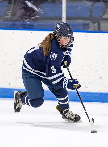 Nobles freshman F Emmy O'Leary notched a goal and an assist in Wednesday's 5-0 win over St. George's.