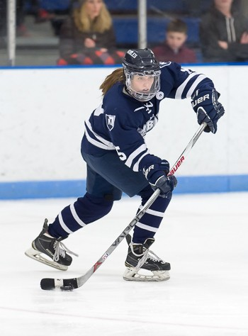 Nobles junior F Becca Gilmore had 3 points (1g, 2a) in the title game -- and was named tournament MVP.